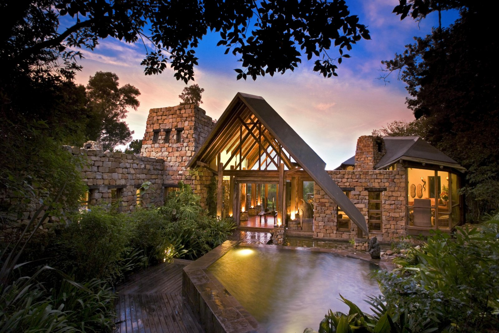 Tsala Tree Top Lodge on the Garden Route, South Africa.