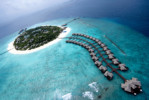 Meeru Island Resort in the Maldives.